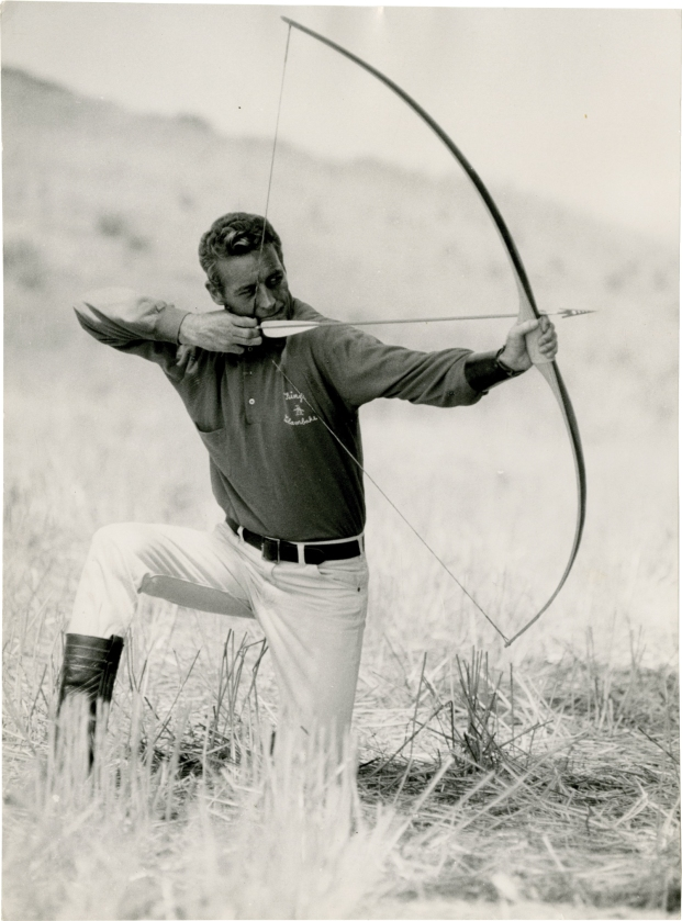 Guy Madison, Photo by Pietro Pascuttini ca. 1965.