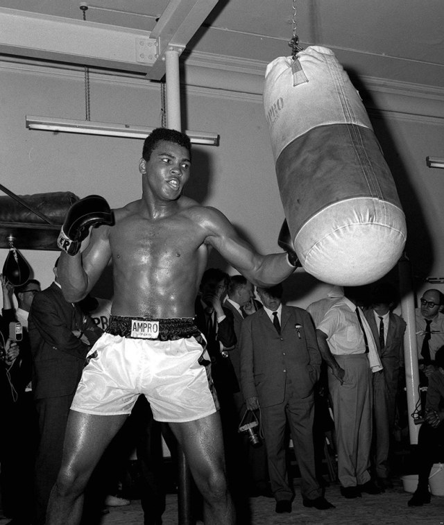 """""""In the ring I can stay until I'm old and gray, Because I know how to hit and dance away."""" Muhammad Ali - R.I.P. Greatest!"""