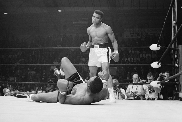 """Float like a butterfly, sting like a bee. The hands can't hit what the eyes can't see."" Muhammad Ali - R.I.P. Greatest!"