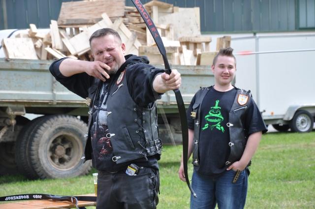 Motorized Cavalry Archery beim Motorradtreffen der Mad Dogs Austria in Wiesfleck 2017