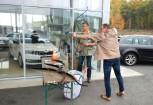 Bowman-Promotion & Bogenschießen – Autohaus Skoda Simon Oberpullendorf. Fotos von Michael Schermann, Peter O. Stecher, 2017.