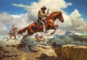 Pony Express by Frank McCarthy