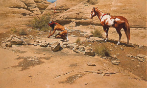 Searching for Footprints by Frank McCarthy